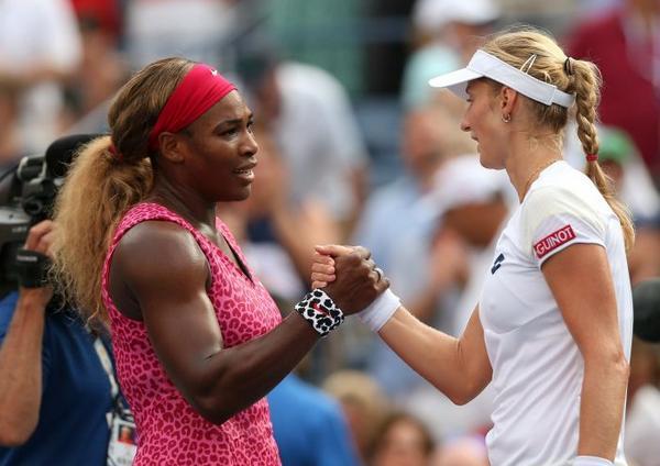 Serena da finala yüksəldi