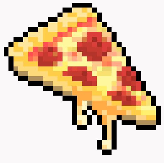 Enjoy The Bits On Twitter Gooey Pizza See GIF Tco EBo40QRMqN Food Pixelart OYjlAtE5FY