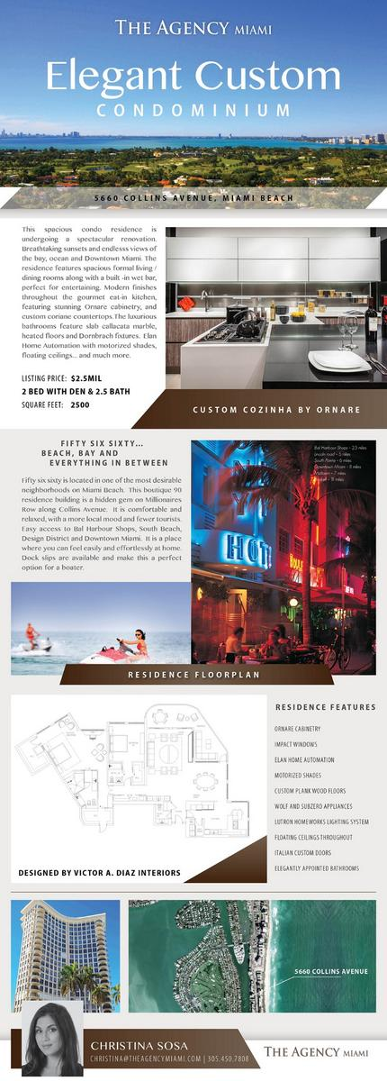 5660 Collins Avenue 20D MiamiBeach 2830sqft Total UltimateLuxury Lifestyle For The Best Value In Miami 249mpictwitter 8KD9nZrm0S
