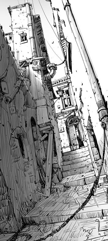Drawing Lines Between Divs : Ian mcque on twitter quot sketchbook backstreets http