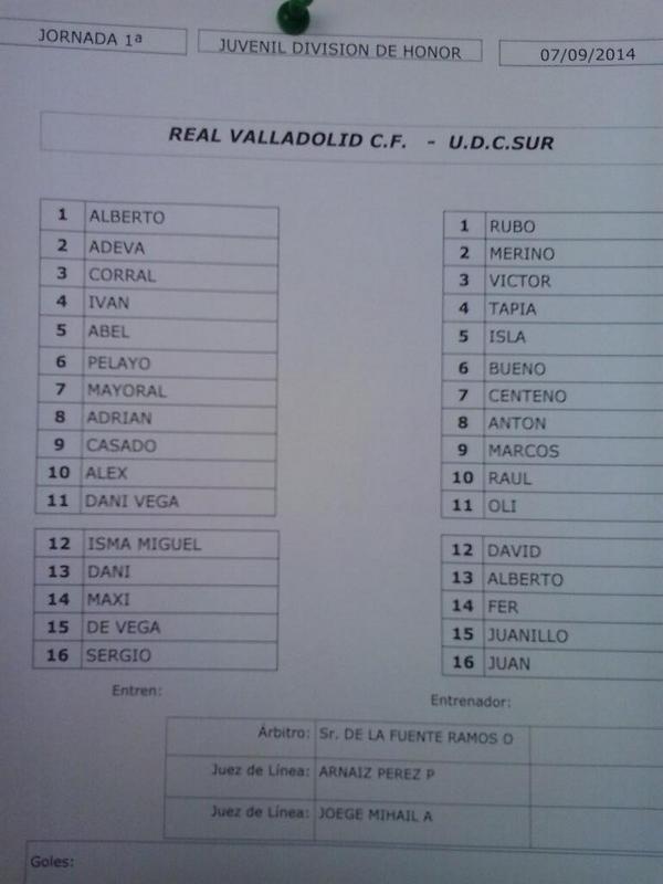 Real Valladolid Juvenil A - Temporada 2014/15 - División de Honor Grupo V Bw2ELrBIIAAp7vC