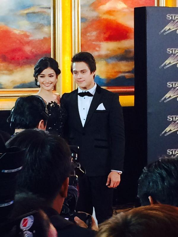 Nile villa on twitter quot enrique gil is here with liza soberano at the