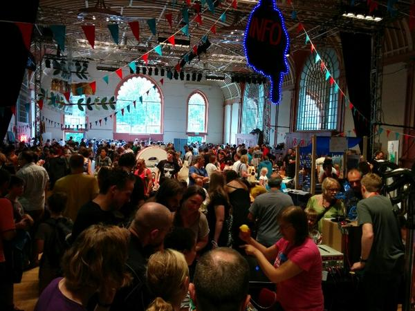 Brighton mini maker faire in full swing #bmmf http://t.co/CP38N6v50K
