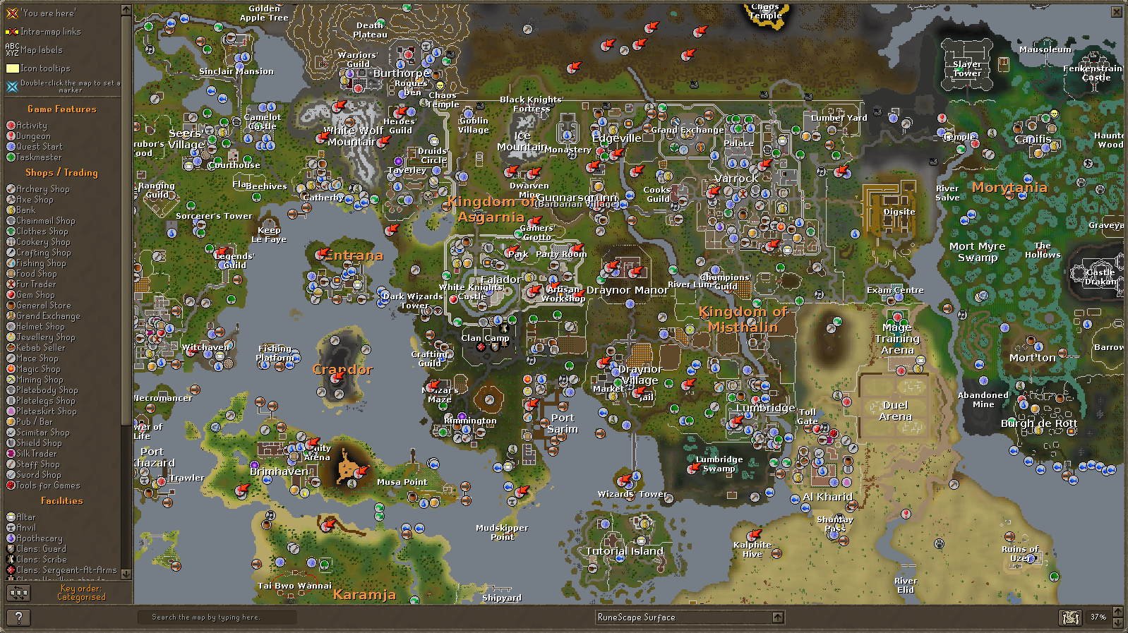 RuneScape on Twitter RT if you know this better than a map of the real
