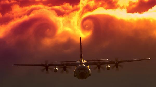 Pretty amazing C-130 sunset photo via @Reddit http://t.co/qyV7SPzdav