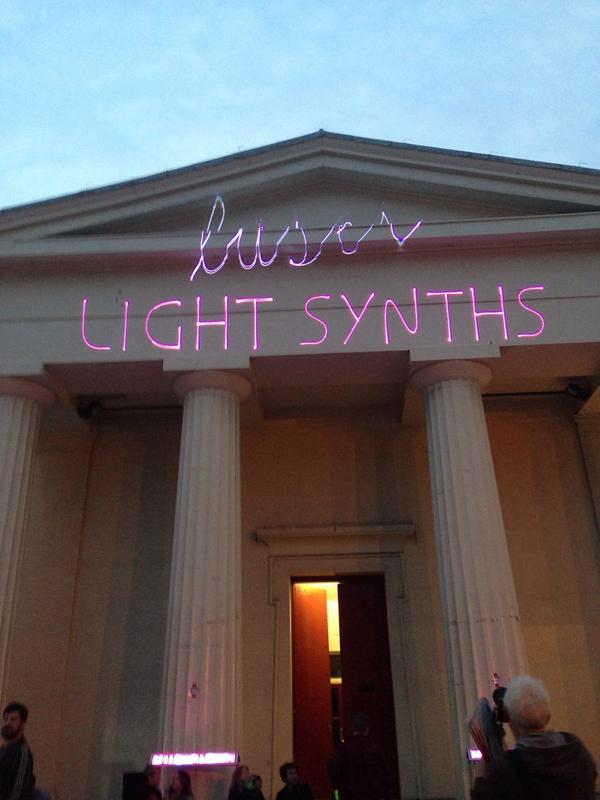 Ten minutes until the laser light synths are let loose! @DigitalBrighton http://t.co/7ALmpt1oJz