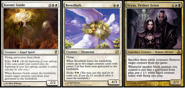 Mtg Trends On Twitter Infinite Combo Karmic Guide Reveillark Teysa Orzhov Scion Exile All Creatures Mtg Http T Co Ohfryleuh1 I discuss the boogeyman that is infinite combos and the best way to handle. karmic guide reveillark teysa orzhov