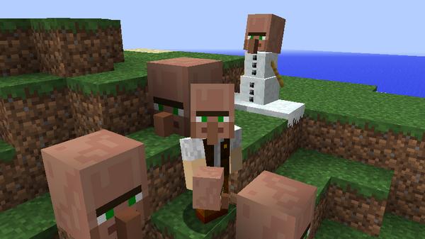 3D村人リソースパック-1