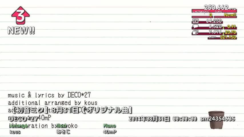 週刊VOCALOIDとUTAUランキング #361・303 [Vocaloid Weekly Ranking #361] Bw5-IAOCcAAFqb7