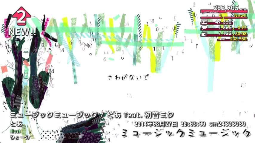 週刊VOCALOIDとUTAUランキング #361・303 [Vocaloid Weekly Ranking #361] Bw5-oljCEAAbXoB