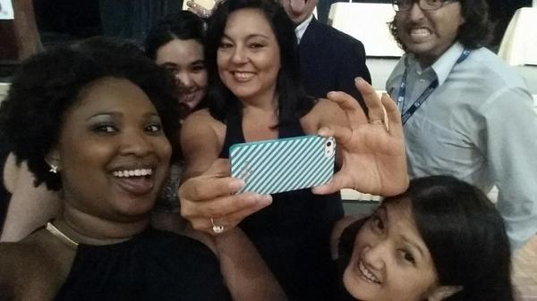 A selfie of a selfie? Now that's art! #EIJ14 http://t.co/rMrOQl0N48