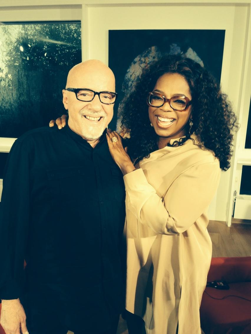 So excited for u all to see my interview w/@paulocoelho on @SuperSoulSunday. Live Stream with us. 11am Eastern time. http://t.co/samEk4h0hr
