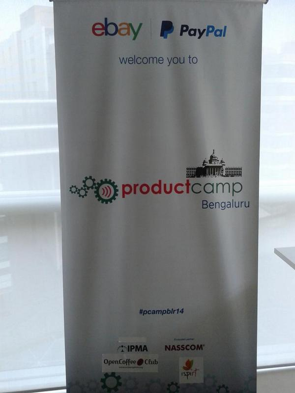 #pcampblr14 is here. Come visit us to witness all the action. Details:http://t.co/hbC3PpKTbT http://t.co/DhBCXNOpSC