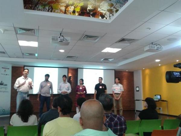 Speakers for today #pcampblr14 http://t.co/J8zlBEY22Z