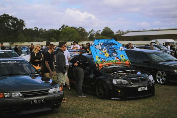 David Thai Duong On Twitter Sonic The Hedgehog Painted On The Under Hood Of This Holden Commodore Hsv Http T Co Yooc1ckvkg