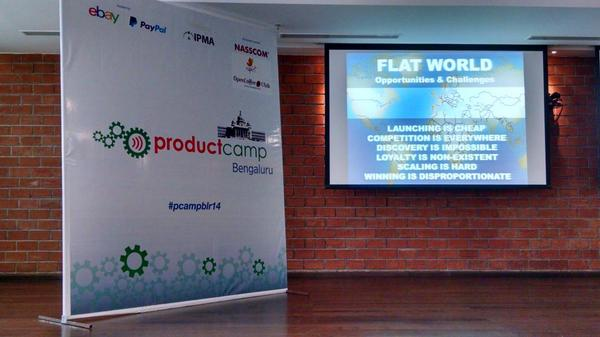 Thumbnail for ProductCamp Bengaluru @PCampblr14 #PCampblr14
