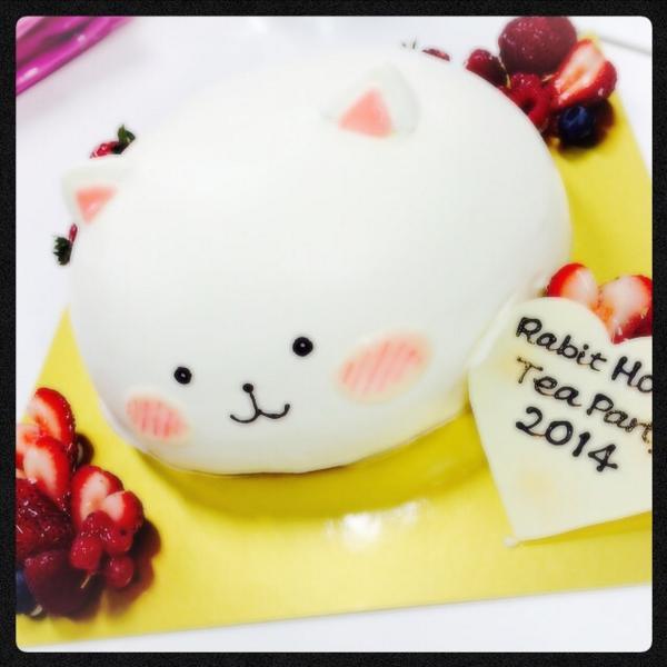 ティッピーケーキがありまして。。 pic.twitter.com/n2yNfyTtzA