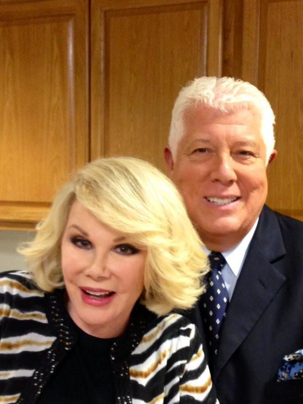 Today we will remember our dear and beloved friend @Joan_Rivers as we attend her memorial service. 1 great gal RIP xx http://t.co/YOIjl1DShs
