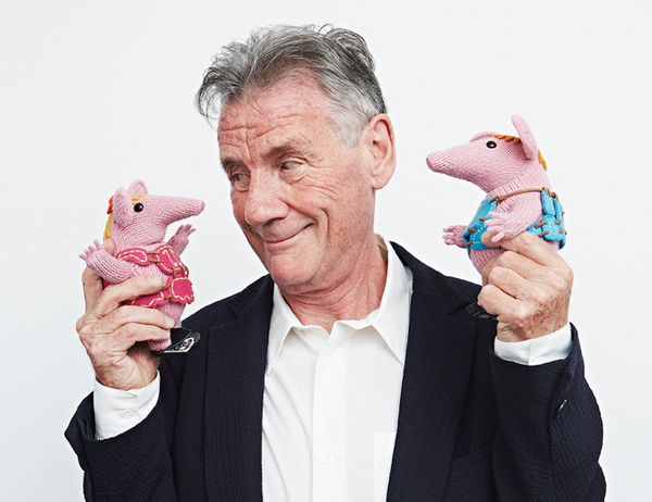 "Deep joy ""@helloclangers Michael Palin confirmed as narrator for brand new #Clangers series premiering Spring 2015! http://t.co/mj0Da5ujrZ"""