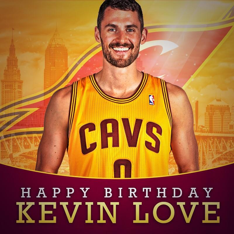 """Cleveland Cavaliers on Twitter: """"Show him some birthday LOVE ..."""