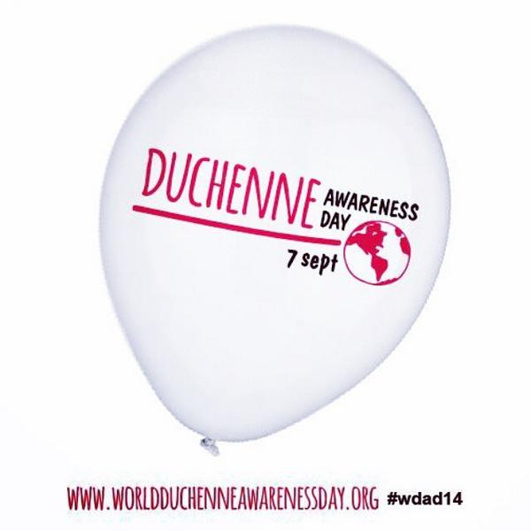 Today is World Duchenne Awareness Day! Help raise awareness. #WDAD14 Learn more: http://t.co/RNsG3E7IEf http://t.co/5A1z4Exq1B