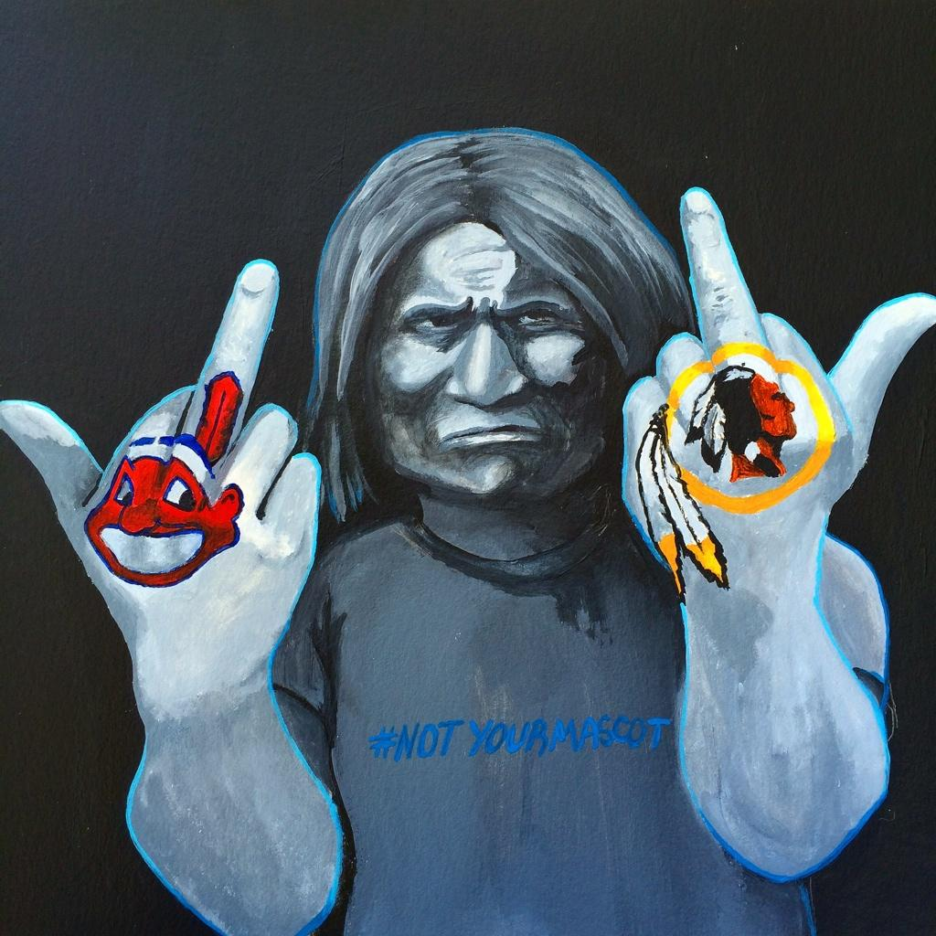 native american mascots racial slur or Change the mascot calls on nfl owners to stand against washington nfl team's use of r-word racial slur visit mounted to end the era of racist and harmful indian mascots in sports and popular word savage to portray a misleading and denigrating image of the native american.
