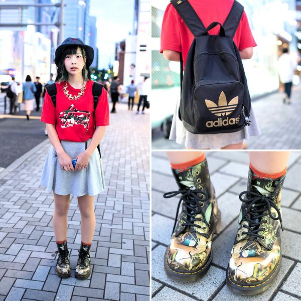 8ed3c1ef982 bucket hat stussy dr martens garden of earthly delights boots amp adidas in  harajuku