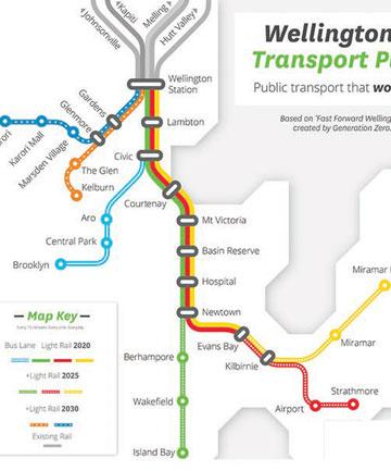 Green party reveals $500m vision for Wellington transport, with light rail and trolley buses http://t.co/D9KkaSaYTM http://t.co/48RrpicXfn
