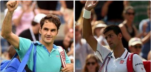 Federer y Djokovic - US Open '14