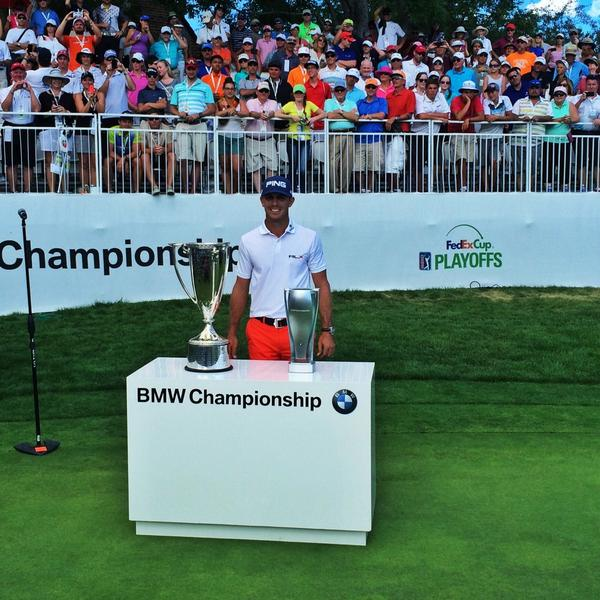 Congratulations @BillyHo_Golf on being the 2014 BMW Champion! #BMWChamps http://t.co/Vs5OtkKsyd