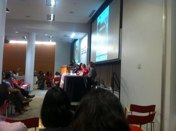 Amazing panel of ladies speaking about how immigrant women are preserving culinary traditions @fi2w #foodin2worlds http://t.co/IKZo8g5tUC