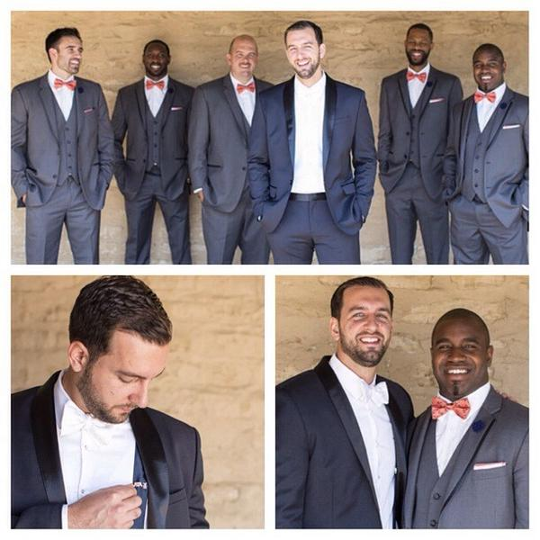 C Rob Stte Phd On Twitter A Thetiebar Wedding Me Paisley White Bowtie Midnight Navy Suspenders Groomsmen Pocketsquare