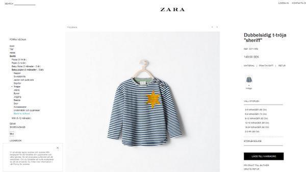 Historieløs sjæl hos Zara har designet børnetrøje #fail #kzstyle http://t.co/VGvYDsAzNS http://t.co/hwHF4aTKdR