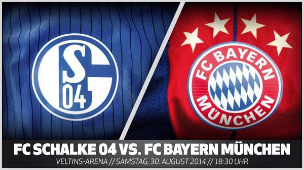 Schalke 04 v Bayern Munich: Watch a Live Stream of the Bundesliga match   available in the UK