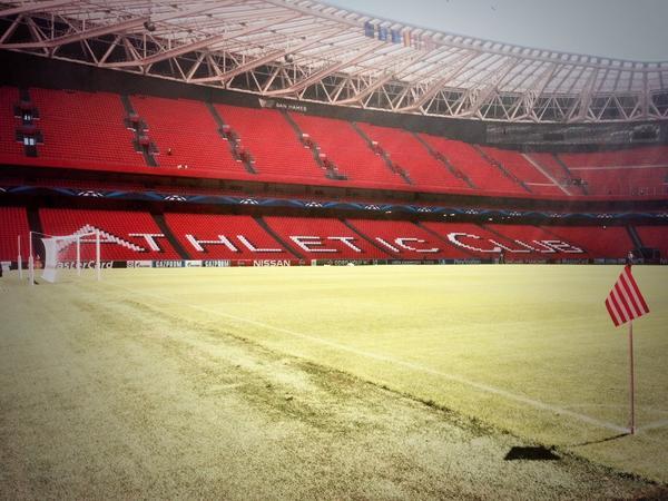 Buenos días gente! Vamos! #goazenathletic http://t.co/GEj2jfUAjo