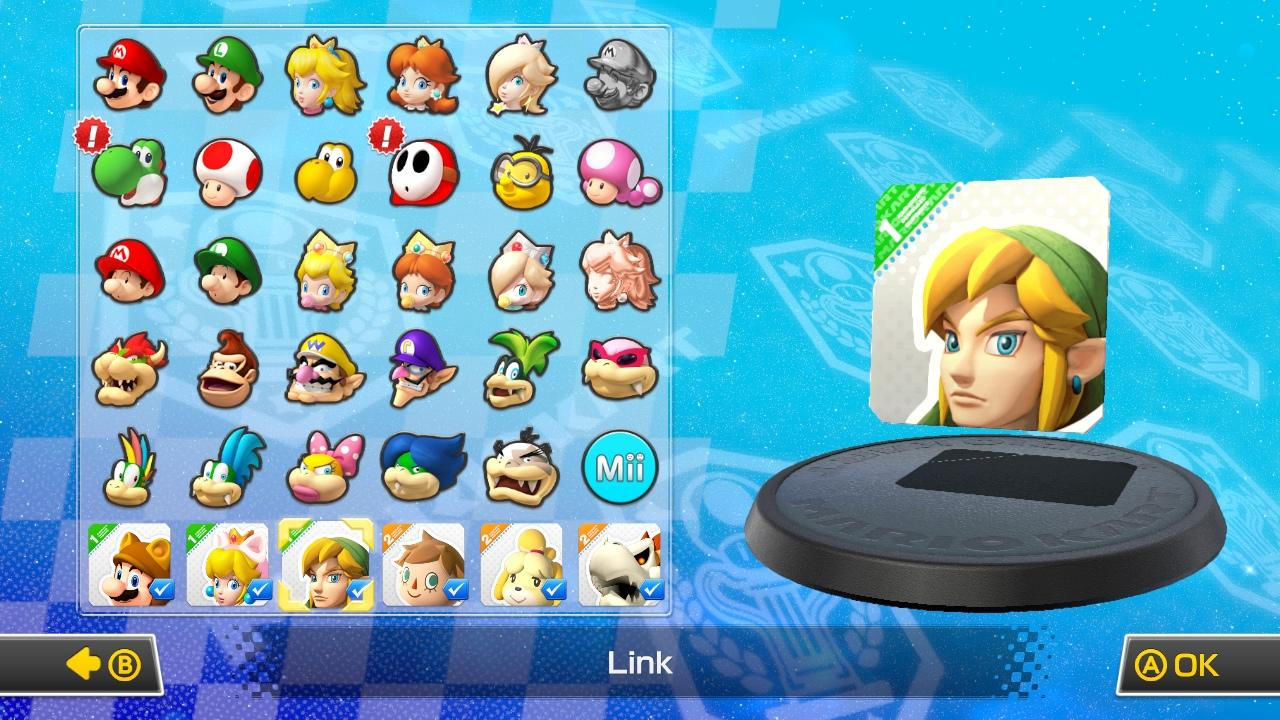 on twitter supergamekart a look at the updated character selection screen in mk8. Black Bedroom Furniture Sets. Home Design Ideas