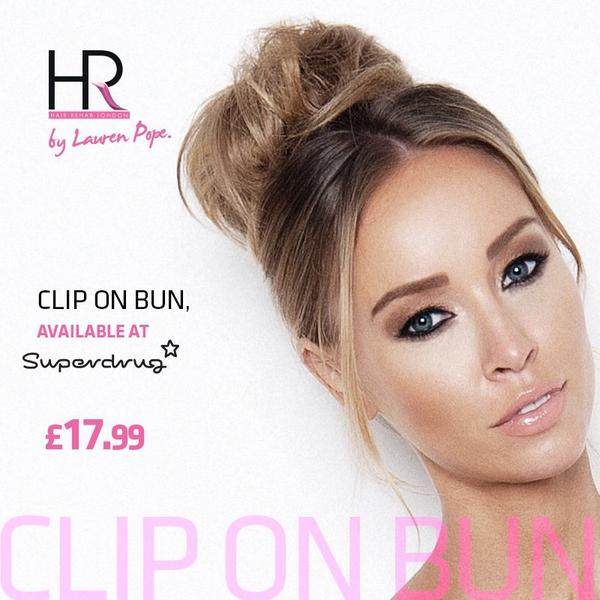 Hair Rehab London On Twitter The Clip On Bun Simple Bun