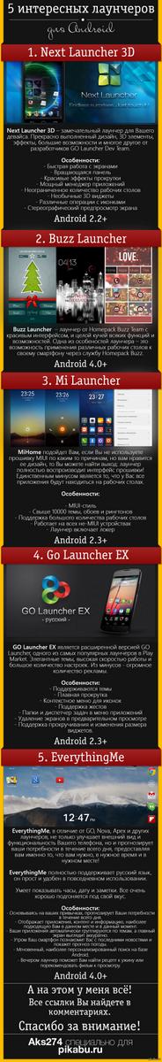 Лаунчеры для android windows