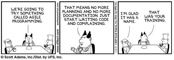 heh management's take on Agile... http://t.co/eP0J7ox3j8