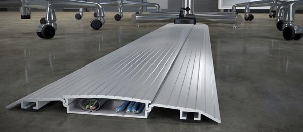 connectrac on floor wireway