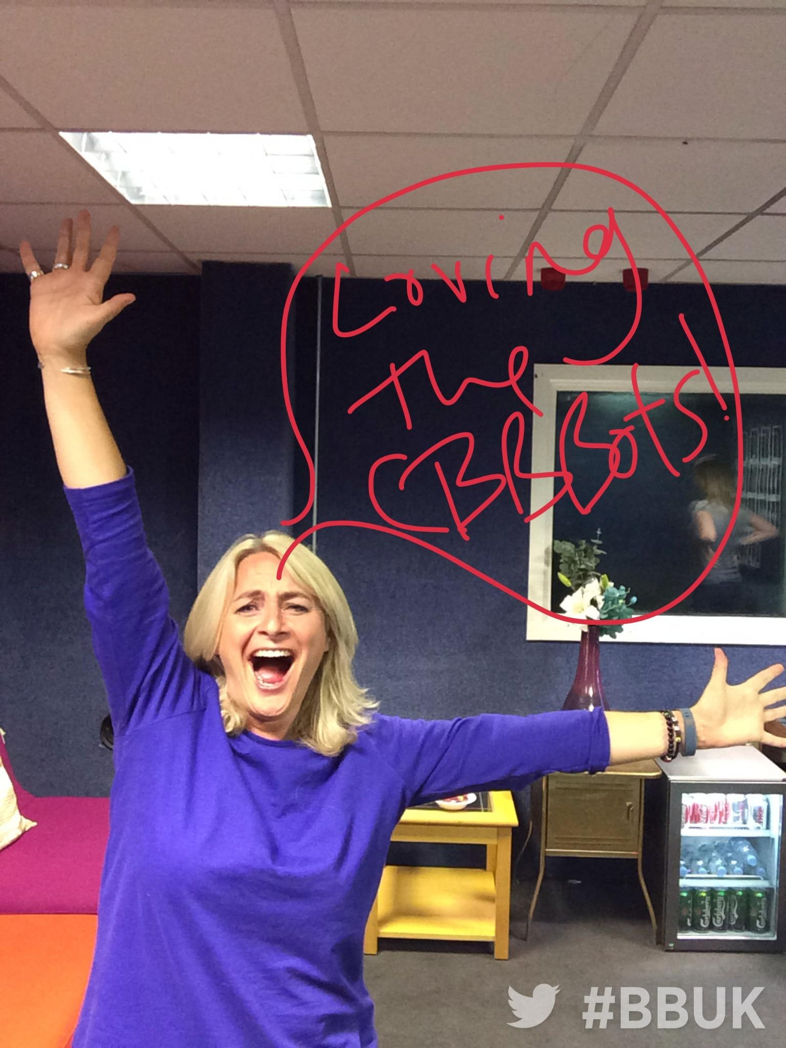 It's an extra special #CBBBOTS tonight, so let's meet our extra special panel. First up is wonder woman @EmmaKennedy http://t.co/2U0OsPgY0D