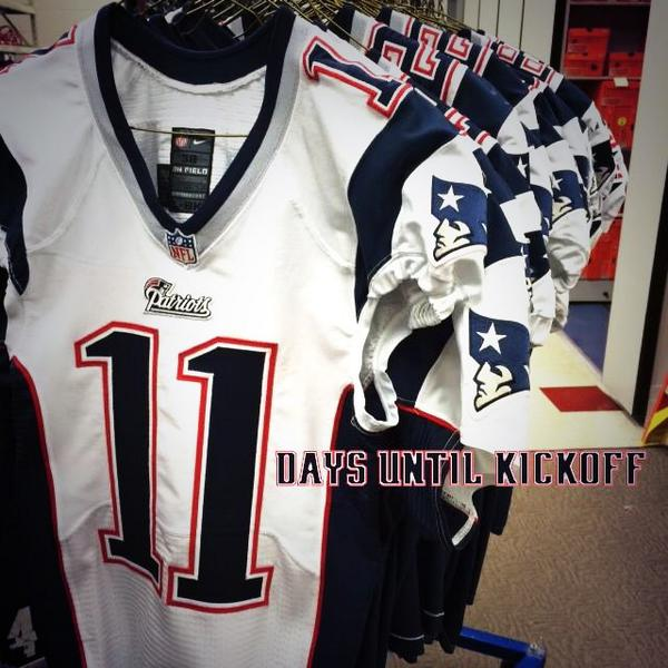 julian edelman game worn jersey