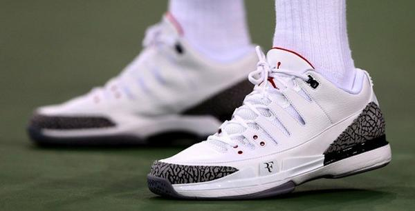 4dc43d3f57655 michael jordan discusses rogerfederer s debut of the nikecourt zoom vapor  aj3 with espn