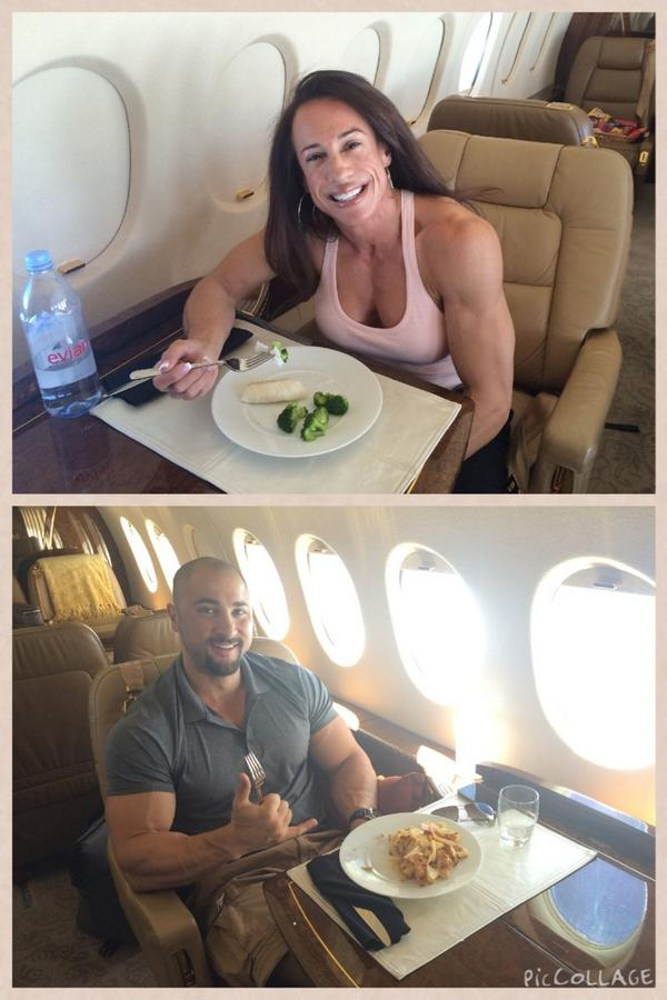 Whooohooo! My codfish and I are off to Pittsburgh for the IFBB North Americans w/ my hubby ❤️ @DaveRienzi  #Showtime http://t.co/mejUdVrSk6