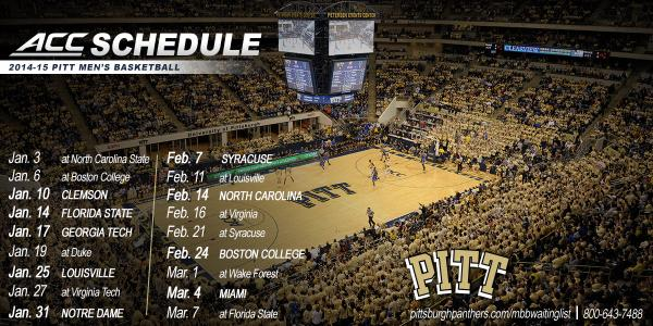 photo about Syracuse Basketball Schedule Printable referred to as Pitt Basketball upon Twitter: \