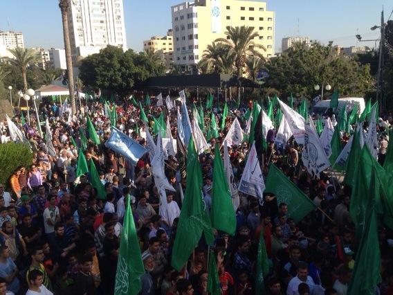 Thumbnail for Hamas & Qassam victory rallies, Shujaiyah, Zafer Tower 4