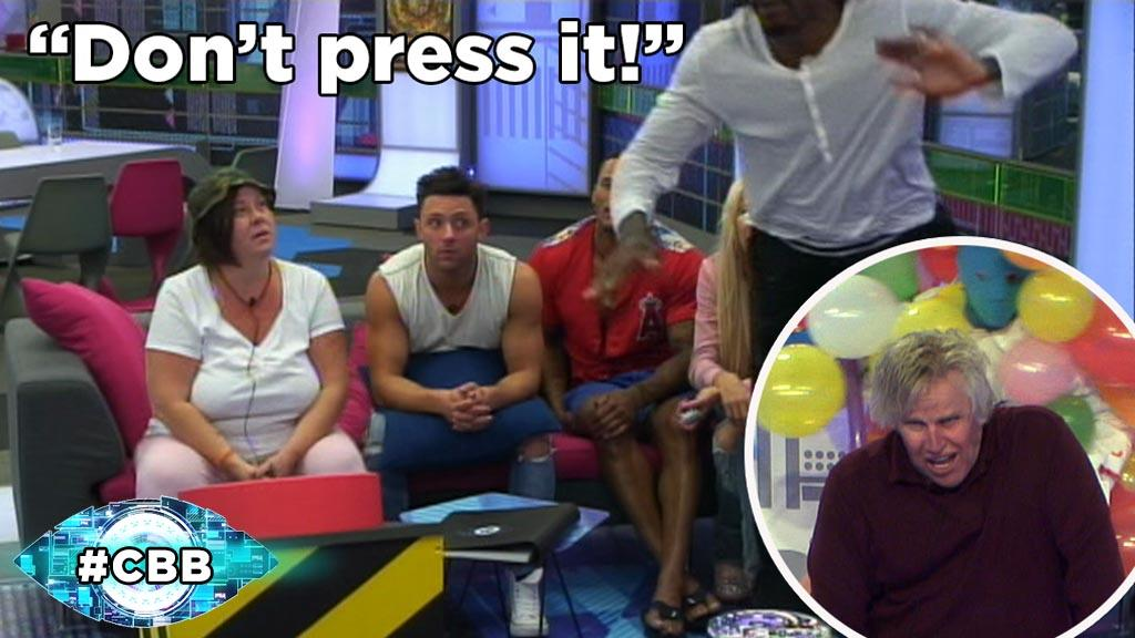 The House is divided. Will they press the button? Take another look at Gary in action: http://t.co/BAF5D1mviW #CBB http://t.co/ZsbHybf9mG