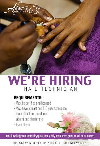 Adam And Eve Day Spa On Twitter Want To Be A Part Of The Hiring Nail Technician Darien