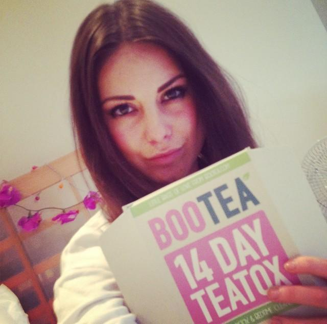 Big fan of @BooteaUK. Just getting my teatox on! http://t.co/fUlC0RICKd