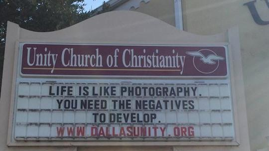 Bill Reichart™ on Twitter: The Forest Gump of Church Signs.... http://t.co/x6TybhJ2gV